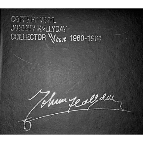 Johnny Hallyday - Collector Vogue 1960-1961 - Coffret 12 Vinyls 7 inches - Box Collector