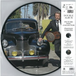 Johnny Hallyday ‎– Le Cœur D'Un Homme - Double Picture Disc LP Vinyl