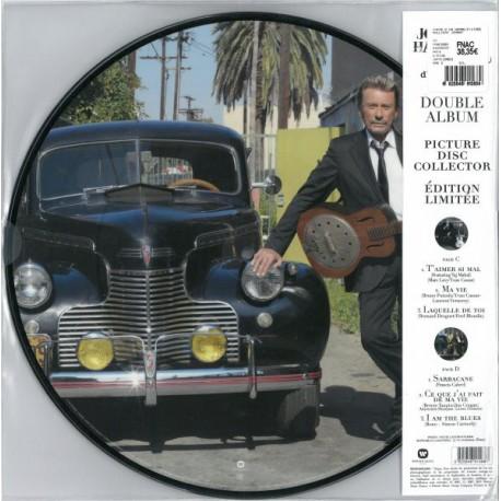 Johnny Hallyday – Le Cœur D'Un Homme - Double Picture Disc LP Vinyl