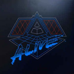 Daft Punk ‎– Alive 2007 - Double LP Vinyl Album