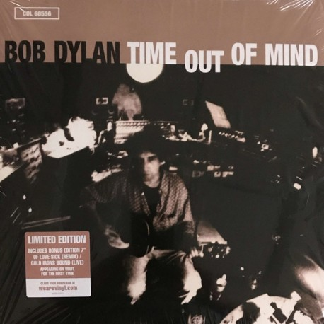 Bob Dylan ‎– Time Out Of Mind - Double LP Vinyl Album + 7 inches - Limited Edition