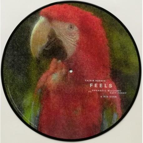 Calvin Harris ft. Pharrell Williams, Katy Perry & Big Sean – Feels - Maxi Vinyl 12 inches Picture Disc