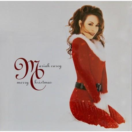 Mariah Carey Christmas Album Cover.Mariah Carey Merry Christmas Lp Vinyl Album