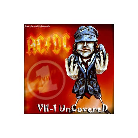 AC/DC ‎– VH-1 Uncovered - LP Vinyl Album - Coloured Orange