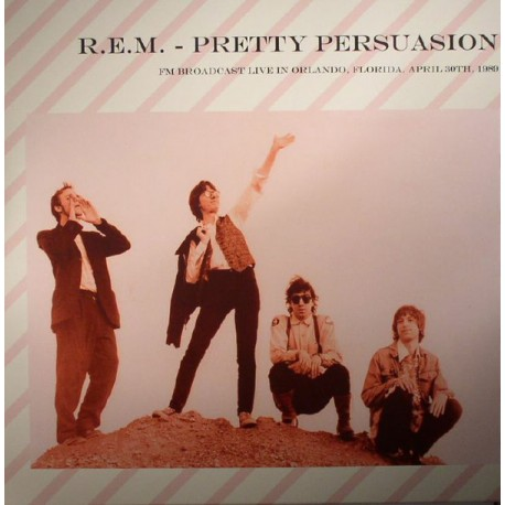 R.E.M. ‎– Pretty Persuasion - LP Vinyl Album