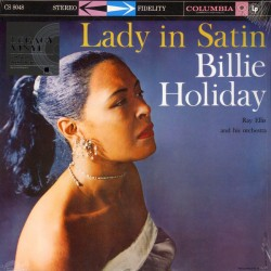 Billie Holiday With Ray Ellis And His Orchestra ‎– Lady In Satin - LP Vinyl Album