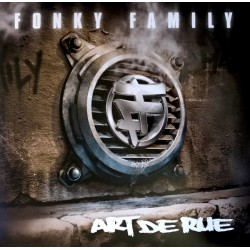 Fonky Family – Art De Rue - Double Lp Vinyl Album - Coloured Edition