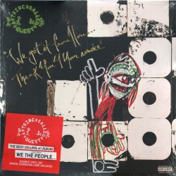 A Tribe Called Quest ‎– We Got It From Here…Thank You 4 Your Service - Double LP Vinyl + MP3 Code