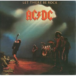 AC/DC ‎– Let There Be Rock - LP Vinyl Album