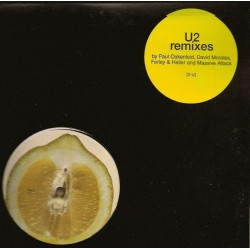 U2 Lemon, Mysterious Ways, Salome,  Remixes Double Vinyles