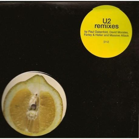U2 Lemon, Mysterious Ways, Salome,  Remixes Double Vinyles