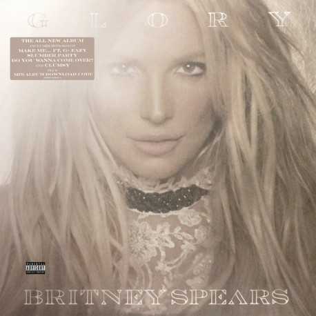 Britney Spears ‎– Glory - Double LP Vinyl Album Deluxe Edition