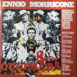 Ennio Morricone ‎– Queimada - Burn!  - LP Vinyl Album - Coloured Edition