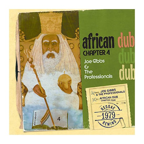 Joe Gibbs & The Professionals ‎– African Dub - All Mighty - Chapter 4 - LP Vinyl Album