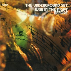 The Underground Set ‎– War In The Night Before - LP Vinyl Album Coloured Orange