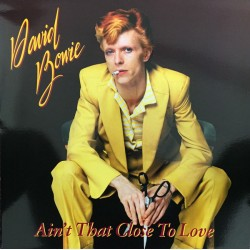 David Bowie ‎– Ain't That Close To Love - LP Vinyl Album - Coloured White