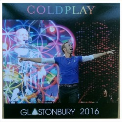 Coldplay – Glastonbury 2016 - LP Vinyl Album