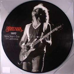 Santana 1977  - New Year's Eve In California - LP Vinyl Album - Picture Disc
