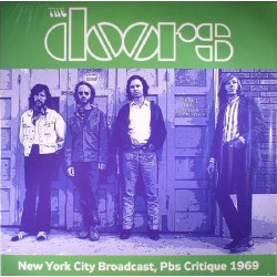 The Doors ‎– New York City Broadcast, PBS Critique 1969 - LP Vinyl Album