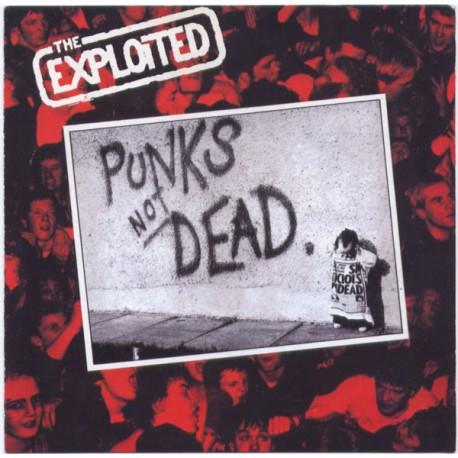 Vinyl The Exploited Punks Not Dead Album Lp Punk Italy Radiation