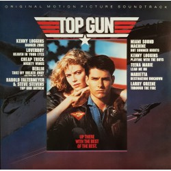 Top Gun - Original Motion Picture Soundtrack - LP Vinyl Album