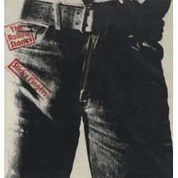 The Rolling Stones ‎– Sticky Fingers - LP Vinyl Album - Zip Cover