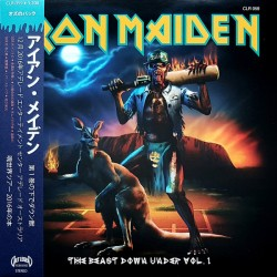 Iron Maiden ‎– The Beast Down Under Vol.1 - LP Vinyl Album + OBI
