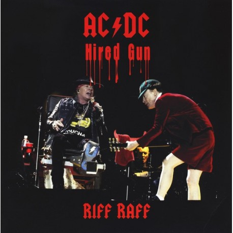 AC/DC ‎– Riff Raff - LP Vinyl Album Coloured Yellow