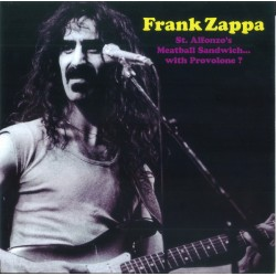 Frank Zappa ‎– St. Alfonzo's Meatball Sandwich... With Provolone? - LP Vinyl Album Coloured