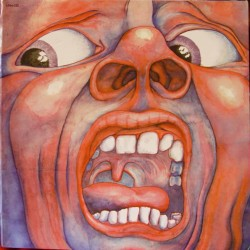 King Crimson ‎– In The Court Of The Crimson King - LP Vinyl Album Gatfold