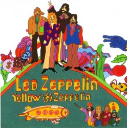 Led Zeppelin ‎– Yellow Zeppelin - LP Vinyl Album Coloured