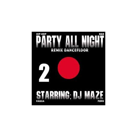DJ Maze – Party All Night Vol.2 - Maxi Vinyl 12 inches