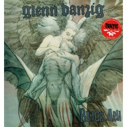 Glenn Danzig ‎– Black Aria - LP Vinyl Coloured Red