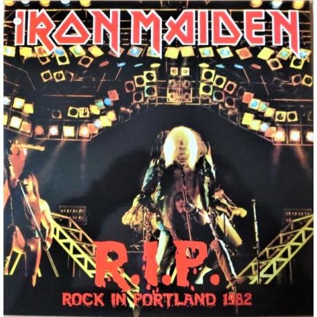 Iron Maiden – Rock in Portland ( R.I.P. ) - LP Vinyl Album + Poster