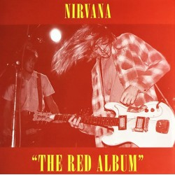 Nirvana ‎– The Red Album - LP Vinyl Album Coloured Red