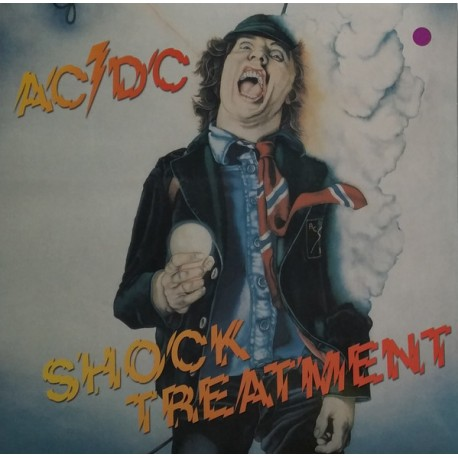 AC/DC ‎– Shock Treatment - LP Vinyl Album Coloured