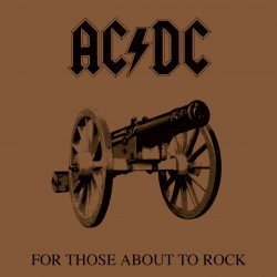 AC/DC ‎– For Those About To Rock (We Salute You) - LP Vinyl Album