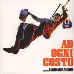 Ennio Morricone ‎– Ad Ogni Costo - LP Vinyl Album - Coloured Orange