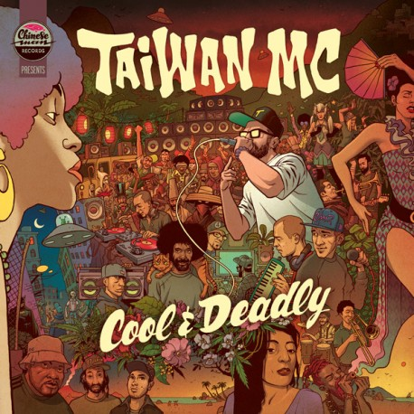Taiwan MC – Cool & Deadly - Double LP Vinyl Album + Free MP3