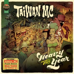 Taiwan MC ‎– Heavy This Year - Maxi Vinyl 12 inches
