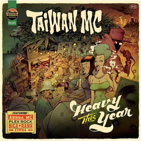 Taiwan MC – Heavy This Year - Maxi Vinyl 12 inches