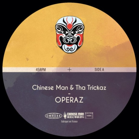 Chinese Man & Tha Trickaz – Operaz - Maxi vinyl 10 inches + Free MP3