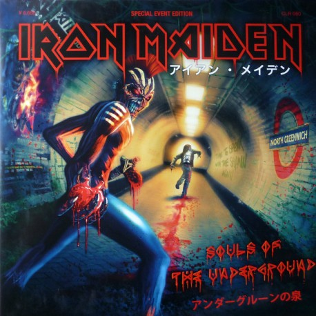 Iron Maiden – Souls Of The Underground - Double LP Vinyl Picture Disc