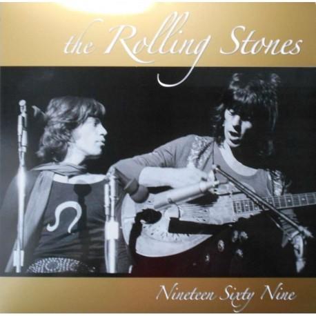 The Rolling Stones – Nineteen Sixty Nine - LP Vinyl Album Coloured Red