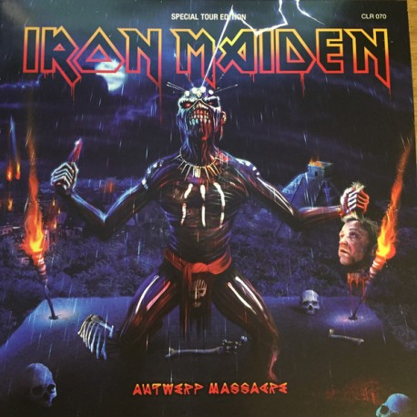 Iron Maiden – Antwerp Massacre - Double LP Vinyl Coloured