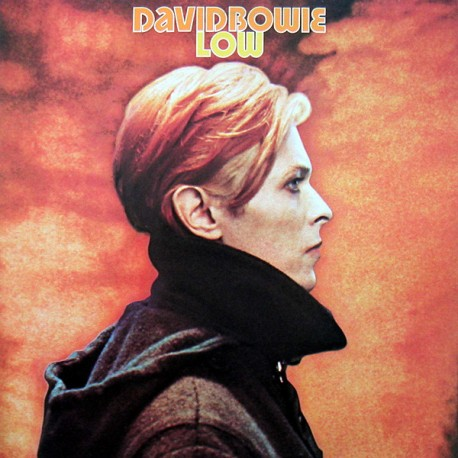 David Bowie ‎– Low - LP Vinyl Album - Coloured Orange