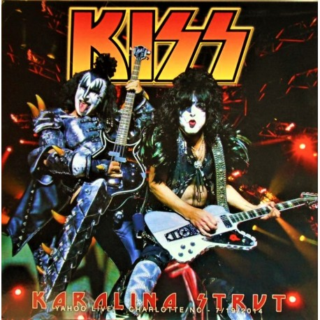 Kiss ‎– Karolina Strut - Yahoo Live ! - LP Vinyl Album Coloured