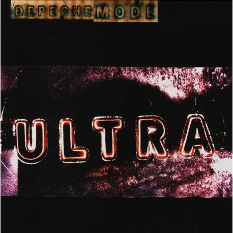 Depeche Mode ‎– Ultra - LP Vinyl Album Gatefold