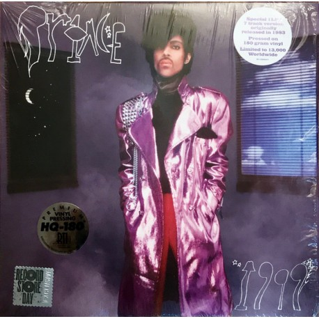 Prince – 1999 - LP Vinyl Album - Disquaire Day 2018