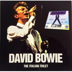 David Bowie ‎– The Italian Toilet - Double LP Vinyl Album Coloured Red Limited Edition